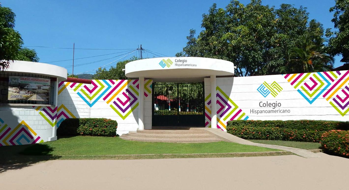 Branding Colegio Hispanoamericano - agencia de publicidad y2d Bucaramanga