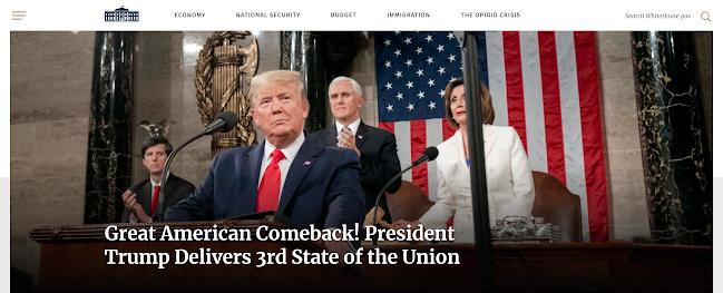 Web de la Casa Blanca hecha en WordPress